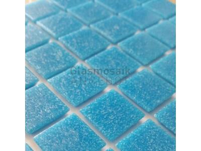 Mosaique de verre bleu moyen